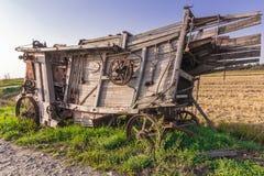 Oud Landbouwwerktuig Royalty-vrije Stock Fotografie