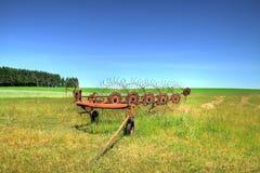 Oud landbouwwerktuig Royalty-vrije Stock Foto's