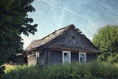 Oud Landelijk Huis Royalty-vrije Stock Foto