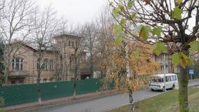 Oud landgoed in Pyatigorsk Autumn Landscape stock videobeelden