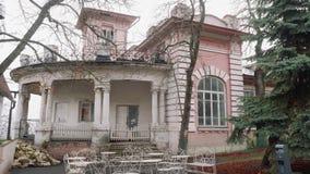 Oud landgoed in Pyatigorsk Autumn Landscape stock footage
