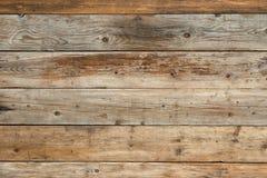 Oud langzaam verdwenen pijnboom natuurlijk houten vlak vooraanzicht als achtergrond Stock Afbeelding