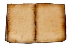 Oud leeg boek Royalty-vrije Stock Afbeelding