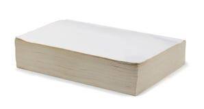 Leeg boek stock afbeelding