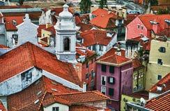 Oud Lissabon Stock Foto's
