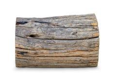 Oud logboekhout Royalty-vrije Stock Foto's
