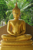 Oud Lord Buddha Statue in Thailand Royalty-vrije Stock Foto