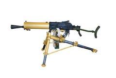 Oud machinegeweer Stock Foto