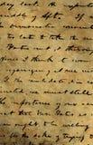 Oud manuscript Stock Foto