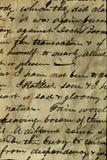 Oud manuscript Stock Foto's