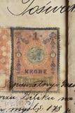 Oud manuscript Royalty-vrije Stock Afbeelding