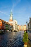 """Oud Marktvierkant in PoznaÅ """" Royalty-vrije Stock Foto"""