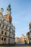"Oud Marktvierkant in PoznaÅ "" Royalty-vrije Stock Afbeeldingen"