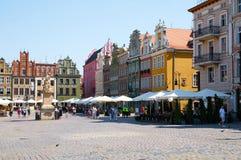Oud marktvierkant poznan Royalty-vrije Stock Afbeelding