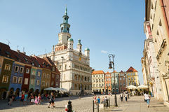 Oud marktvierkant poznan Royalty-vrije Stock Fotografie