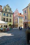 Oud marktvierkant poznan Stock Foto