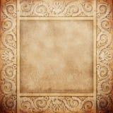 Oud marmeren frame Stock Foto's