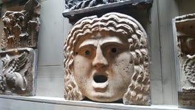 Oud masker stock afbeeldingen