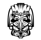 Oud masker Afrikaan Stock Afbeelding