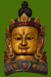 Oud masker tibet Boeddhisme Stock Afbeeldingen