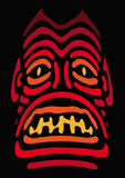 Oud masker (vector) Stock Afbeelding