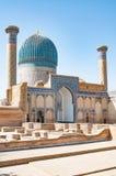 Oud mausoleum gor-Emir Royalty-vrije Stock Foto