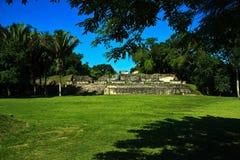 Oud Maya plein Royalty-vrije Stock Foto