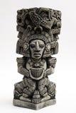 Oud Mayan beeldhouwwerk Stock Afbeelding