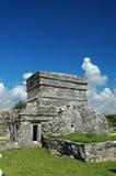 Oud Mayan Huis Stock Afbeelding