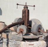 Oud mechanisme Stock Afbeeldingen