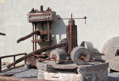 Oud mechanisme Stock Fotografie