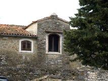 Oud mediterraan steenhuis Royalty-vrije Stock Fotografie
