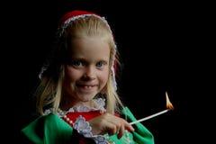 Oud meisje Royalty-vrije Stock Fotografie
