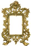 Oud messingsframe Royalty-vrije Stock Foto