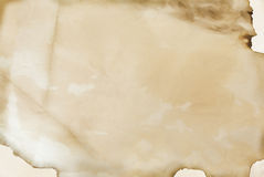 Oud met de hand gemaakt document, textuur, achtergrond Stock Afbeelding