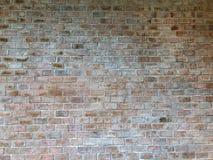 Oud metselwerk, Achtergrond van oude uitstekende bakstenen muurtexturen, de Bouwbouw stock foto