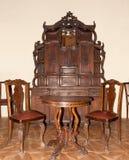 Oud meubilair Royalty-vrije Stock Afbeeldingen