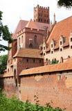 Oud middeleeuws kasteel Stock Afbeeldingen