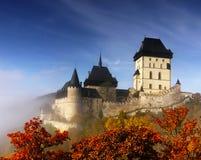 Oud Middeleeuws Kasteeloriëntatiepunt Royalty-vrije Stock Fotografie