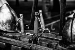 Oud middeleeuws zwaard royalty-vrije stock fotografie