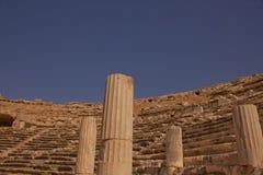 Oud Miletus-Theater in Turkije Royalty-vrije Stock Fotografie