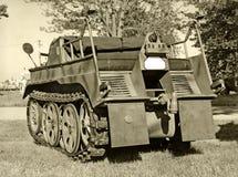 Oud militair voertuig Royalty-vrije Stock Foto