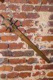 Oud militairwapen stock afbeeldingen