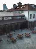 Oud Minsk Koffie Royalty-vrije Stock Foto's