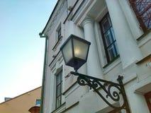 Oud Minsk Lantaarn Stock Foto