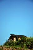 Oud modderhuis in China Stock Fotografie