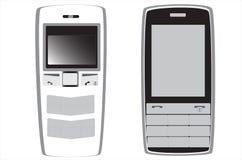 Oud model mobiles Stock Afbeeldingen