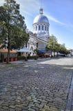 Oud Montreal, de Straat van Saint Paul Stock Foto
