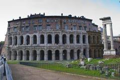 Oud monument van Rome (kleine colosseum) Royalty-vrije Stock Foto