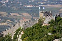 Oud Moors kasteel royalty-vrije stock afbeelding